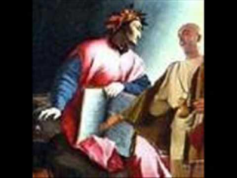 Vittorio Sermonti legge il 2° canto dell'Inferno (2° parte)