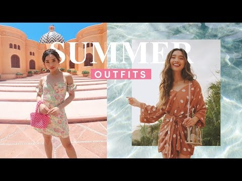SUMMER OUTFIT IDEAS (for every occasion) 🔥