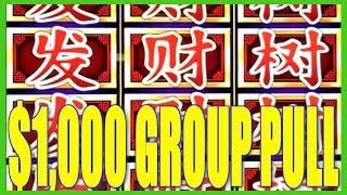$1,000 MAX BET Group Pull | Slot Traveler