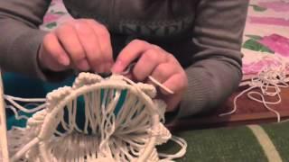 мастер   класс 1  начало плетение корзины  фистоны 83