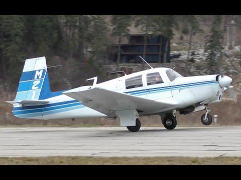 Mooney M20 Ranger Takeoff