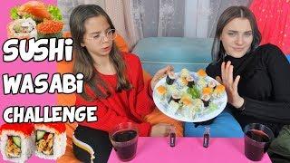 Sushi Wasabi CHALLENGE   BABAMIZI ÇOK KÖTÜ ŞAKALADIK - Eğlenceli Çocuk Videosu