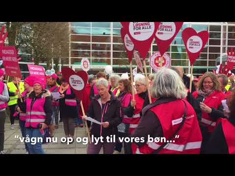 Demonstration i Horsens