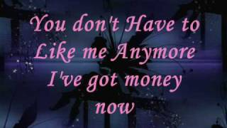 PINK - I got money now (Lyrics)