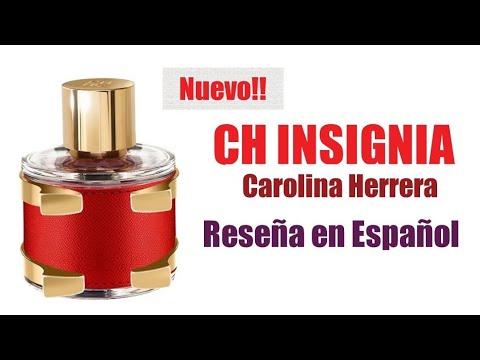 CH INSIGNIA - CAROLINA HERRERA (Reseña) - YouTube 550b729510