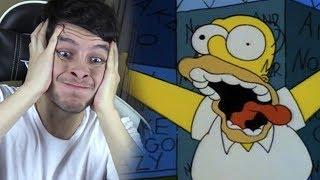 EL NUEVO ANIMATRÓNICO DE HOMERO SIMPSON !! ME CAGO DEL SUSTO - Fun Times At Homer's