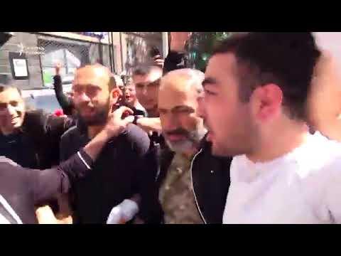 Победа восставших в Армении. Кремлевская марионетка Серж Саргсян подал в отставку.