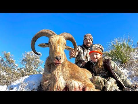 2021 New Mexico Public Land Youth Barbary Sheep Hunt