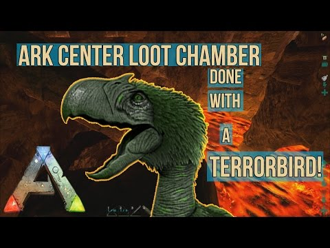 ARK: Survival Evolved   CENTER LOOT CHAMBER WITH A TERROR BIRD!   Most  Popular Videos