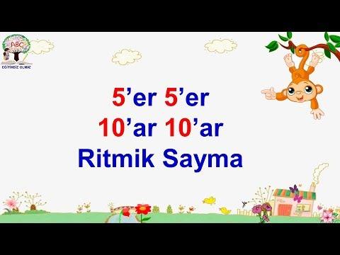 5 Er 5 Er 10 Ar 10 Ar Ritmik Sayma Youtube