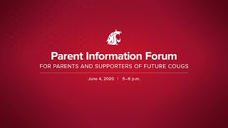 Parent Information Forum