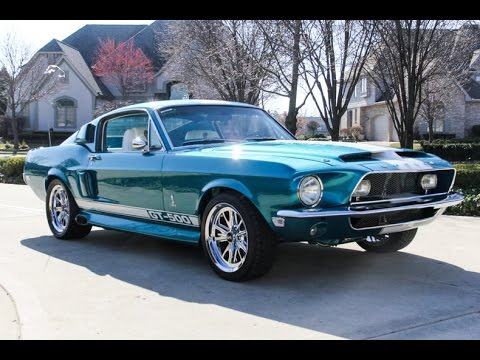 1968 Ford Mustang Fastback Shelby GT500 Tribute For Sale ...