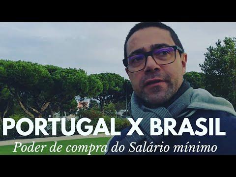 Salário Portugal X Salário Brasil
