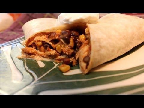 Fiesta Chicken -  McCormick Slow Cooker Seasoning Mix - Turkey Leftover Idea