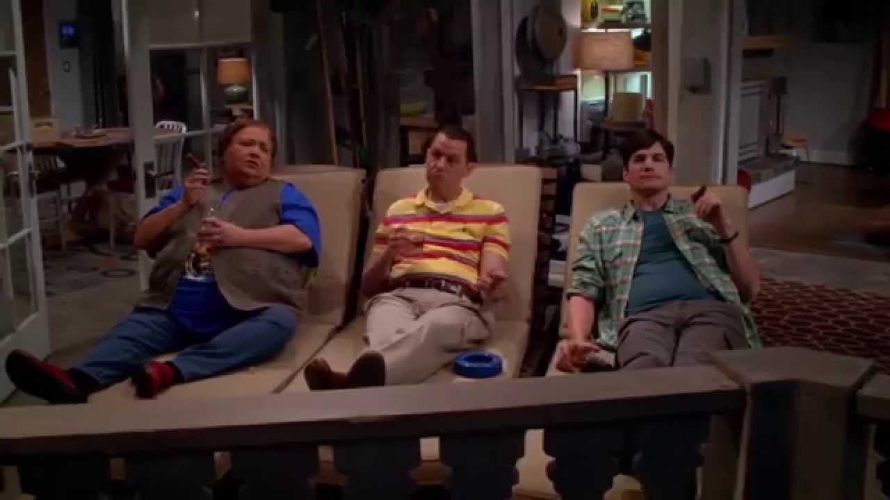 Two and a Half Men Finale - Ending Scene - YouTube