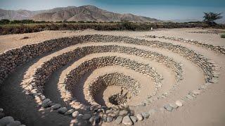 Desvelan el misterio de extrañas espirales cerca de Nazca, Perú.