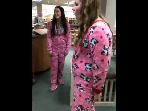 Footie Pajamas - YouTube