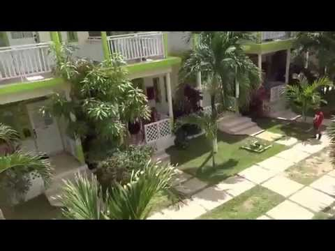 Tour of hotel Fun Holiday Beach resort in Negril, JAMAICA,  April 15-22, 2015.