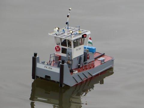 TKBK VII. Tolóhajó Modell Verseny Monor
