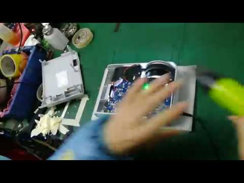 WZATCO CTL80 Projector,How to Clean the LCD Screen.
