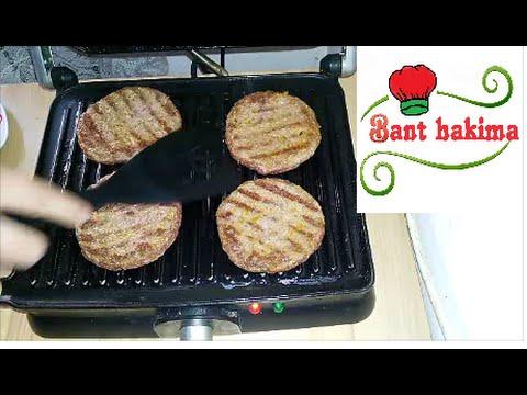 طريقة عمل برجر اللحم الشهي مثل المطاعم روعة طريقة تخزين البرجر بالمجمد Youtube