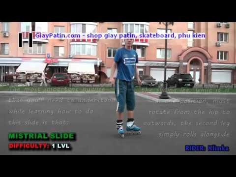 Hướng dẫn cách thắng Inline Skate - kiểu Mistrial Slide