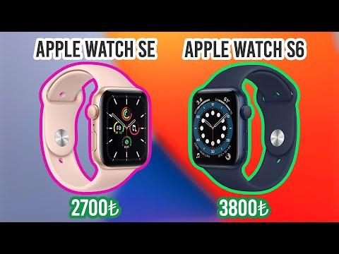 İŞTE Apple Watch Seri 6 ve Ucuz Apple Watch SE !