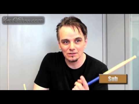 Gavin Harrison - Rudimental Warm Up | Drum Lesson
