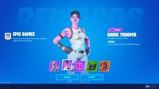🔥 Fortnite Skull Trooper Giveaway Update! - Ghoul Trooper Returns! (Fortnite Item Shop) Live!