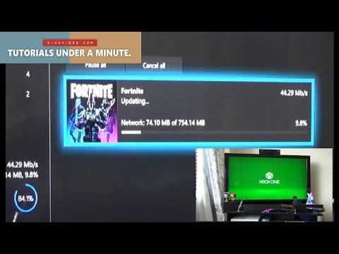 Xbox One : Fortnite Update Stuck At 0% FIX