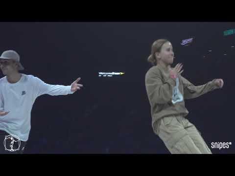 Hip hop Best 16 - Juste Debout 2019 - Waydi & Rochka vs Nestya & Andrey Stylez