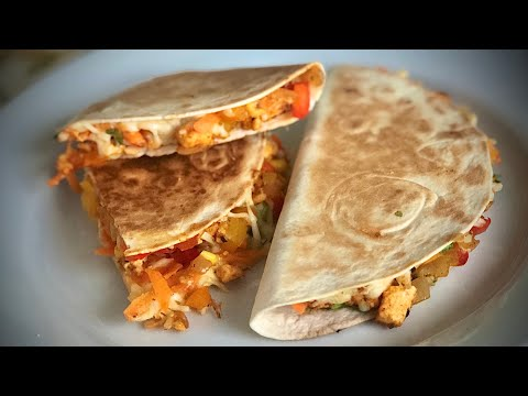 oil-free-instant-snack-recipe||panner-quesadillas||-పన్నీర్-క్యూసాడిల్లా||-पनीर-क्वैसडिला||easysnack