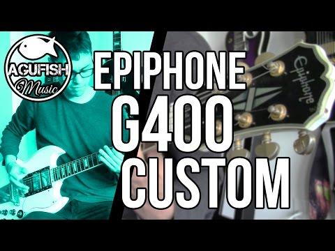 epiphone-g400-custom---rock-/-metal-demo-|-3-pickup-sg!!