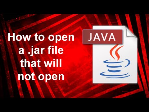 How to open a .jar file Windows 10 - YouTube