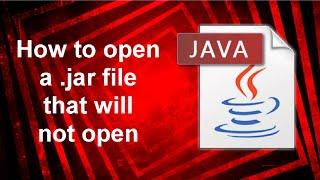 Java Jar