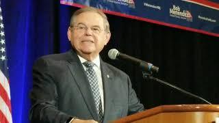 Menendez addresses Democratic Party faithful