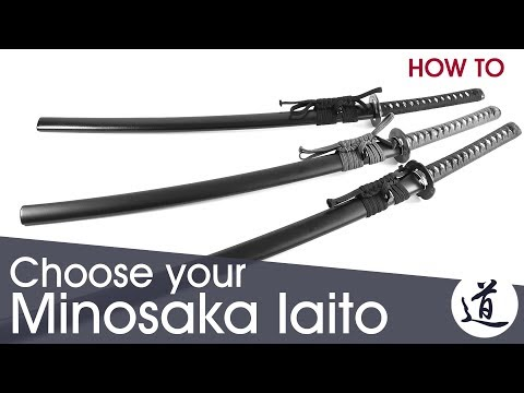 How To Choose Your Minosaka Iaito - Jidai, Higo & Hon Koshirae - W/Subtitles