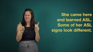 Do sign languages have accents?