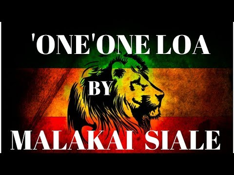 'ONE'ONE LOA - DJ MORO new Tongan love song 2018