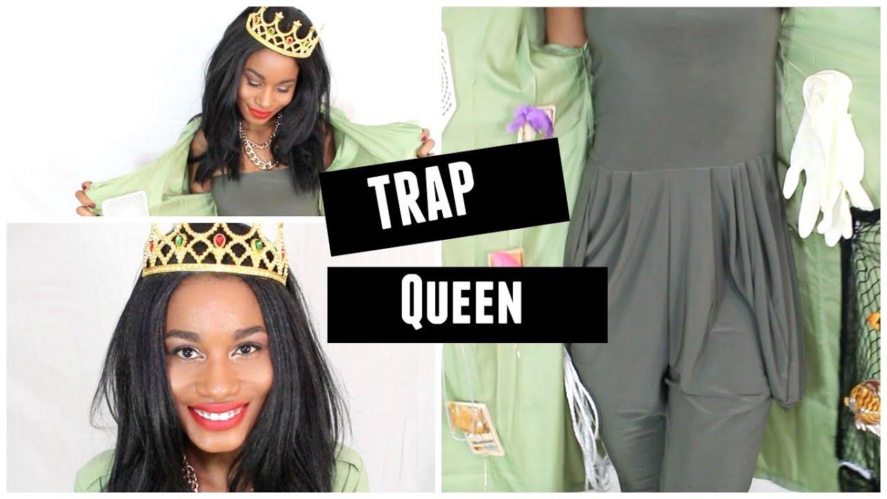 fancy trap queen outfit lyrics