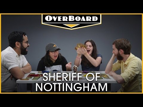 Let's Play: Sheriff Of Nottingham! | Overboard, Episode 9