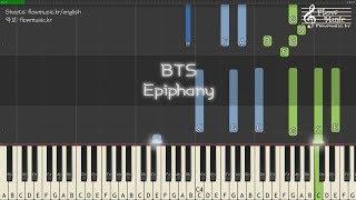 Video BTS (방탄소년단) - Epiphany Piano Tutorial 피아노 배우기 download MP3, 3GP, MP4, WEBM, AVI, FLV Agustus 2018