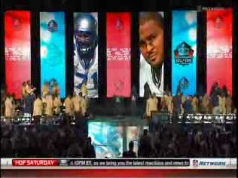 NFL: Hall Of Fame: Class Of 2014: Walter Jones: Enshrinement Ceremony Speech