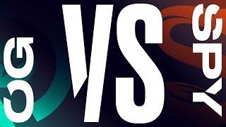 OG vs. SPY - Game 1   Day 1   LEC Summer Regional Qualifier   Origen vs. Splyce (2019)