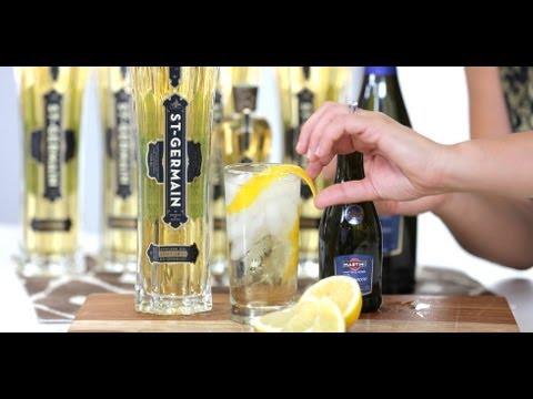 St-Germain Elderflower Cocktail Recipe | Drink Ideas | Happiest Hour