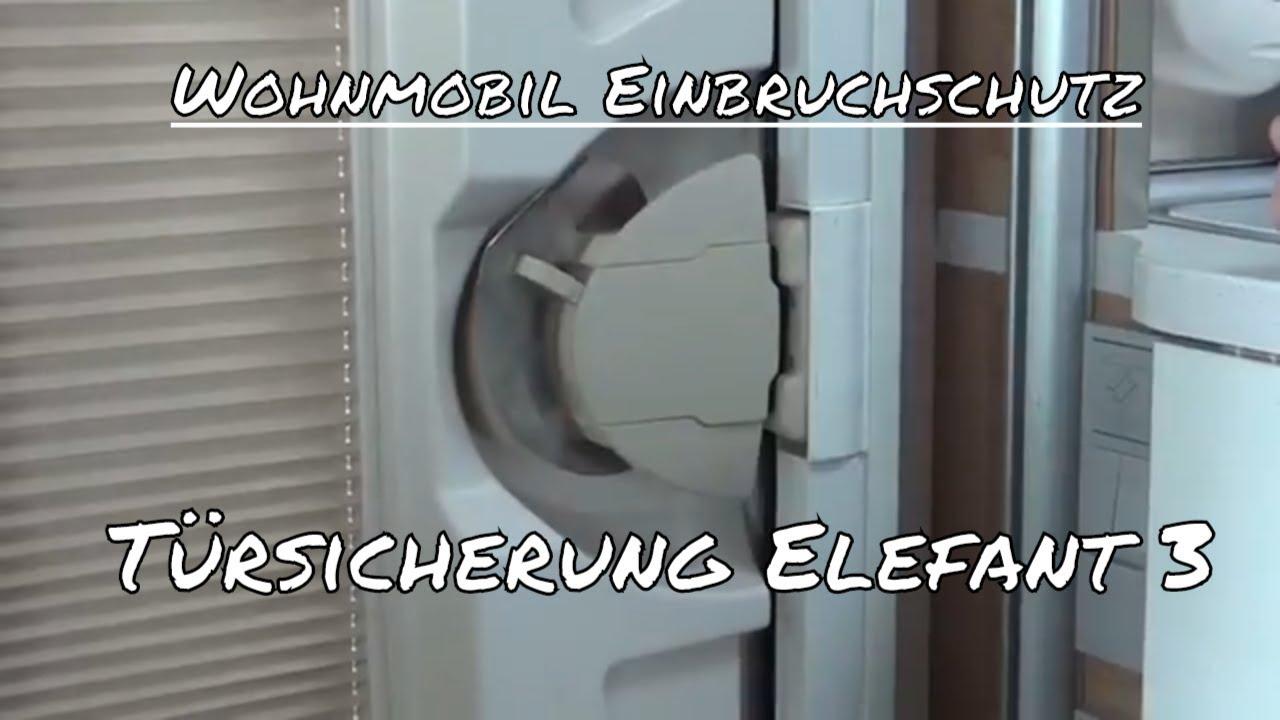 wohnmobil einbruchschutz t rsicherung elefant 3. Black Bedroom Furniture Sets. Home Design Ideas