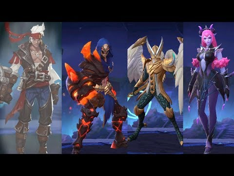 Advanced Server Testing New Heroes In Ranked Live Mobile Legends Youtube