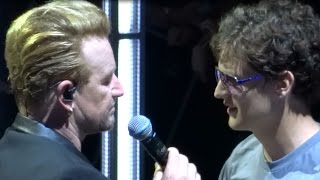 U2 - City of Blinding Lights (w/@notmasonmerritt) (HD) MSG New York #7 on 07-30-2015