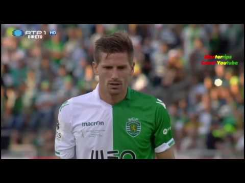 On this day in 2015, Sporting CP came back from 2-0 and a man down to beat Braga to the Portuguese Cup. It was the Lions first trophy in 7 years.