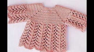 Crochet baby jersey #majovelcrochet #crochet